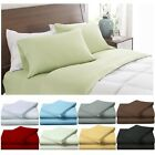 Bed Sheet Set Super Soft 1800 Count Quality Feel Size King Queen Full Twin Sale