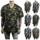Men T-Shirt Army Military Hunting Camo Fashion Casual T Crew Neck & V-Neck S-5X