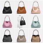 New Coach F57545 F57612 Lexy Shoulder Bag In Pebble Leather Or Jacquard Nwt