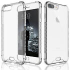iPhone 7 Plus Clear Case For Girls Hybrid Shockproof TPU Bumper Slim Phone Cover