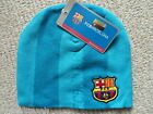 ADULT OFFICIAL BARCELONA BEANIE HAT Football Soccer calico New Tags