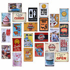 Tin Metal Signs Retro Poster Slogan Restaurant Home Pub Club Bar Door Wall Decor