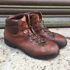UK BRITISH ARMY SURPLUS SCARPA BROWN LEATHER COMPACT MOUNTAINEERING HIKING BOOTS