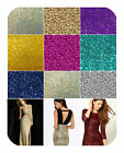 """Glitz Sequins Fabric By The Yard 52"""" W Dress Gowns Tablecloth Mesh Spandex"""