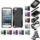 For Apple iPod Touch 5th 6th Gen Hybrid Rugged Impact Hard Soft Case Accessories