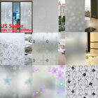Waterproof Frosted Privacy Home Bathroom Window Glass Self-Adhesive Film Sticker