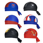 Spider man/Batman Outdoor Headband Hat Cap Headscarf Kerchief Superman Ironman