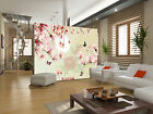 3D Pink peach flower 66 Wall Paper Wall Print Decal Wall Deco Indoor Wall Murals