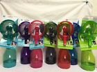 O2COOL DELUXE WATER MISTING FAN 105 TRIGGER SPRAYER BLUE PINK PURPLE TEAL BLAC