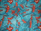 Spider Man Fly Blue CP59501 Marvel Springs Craft Sewing Quilting Cotton Fabric