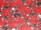 Ant Man Tossed CP54407 Red Black Springs Sewing Quilting Crafting Cotton Fabric