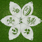 Facepainting Stencil Set - Rugby Assortment