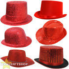 RED NOSE DAY HAT CHOOSE FROM RED TOP HAT, COWBOY, FEDORA, BOWLER + FASCINATOR