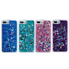 Dynamic Liquid Glitter Heart Quicksand Soft Edge Case Cover for iPhone 7 Plus