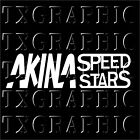 AKINA SPEED STARS Decal Vinyl Sticker Initial D AE86 JDM Rac