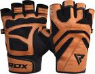 RDX Weight Lifting Training Gym Gloves Fitness Workout Crossfit Bodybuilding CA
