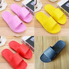 Womens Mens Home Sandals Solid Color Plastic Summer Shoes Shower Bath Slippers