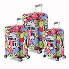 """Love Elastic Luggage Protective Covers For 18""""-28"""" Suitcase Protect Dust Bag"""