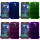 samsung s5 phone cover - For Samsung Galaxy S5 Active Case TPU Rubber Crystal Skin Phone Slim-Grip Cover