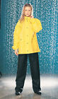 Tourmaster 2 Piece Black/Yellow PVC Rainsuit