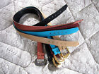1 NEW Maggie Sweet Peachskin Fabric Belt, size L  (Choose Your Color)