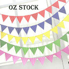 2.3M Birthday Bunting Garland Flags Party Decoration Hanging Banner Baby shower