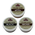 OKAY Colored Edges Lot Temporary Color Gray Touch Up - Black/Dk.Brown/Brown