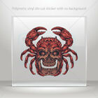 Sticker Decal skull crab monster Tattoo style Vehicle st7 2223W