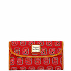Dooney & Bourke NCAA NC State Continental Clutch