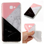 Colorful Marble Rubber Slim Silicone Gel Soft TPU Back Case Cover For Samsung