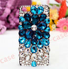 For iPhone Girl's Bling Lovely Lace Rose Rhinestones  Case mirror Glitter Cover