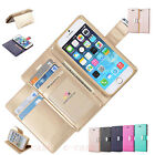 Luxury Flip Fold PU Leather Card Magnetic Wallet Stand Case Cover For Cell Phone