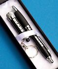 New NFL National Football League Laser Engraved Pen and Light Gift Set