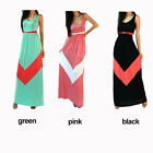 Women Boho Wave Long Maxi Dress Summer Beach Evening Party Dresses Sundress