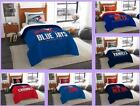 MLB Licensed 2 Piece Twin Comforter & Sham Bed Set In A Bag - Choose Team
