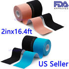 2 Rolls Kinesiology Tape Sports Muscles Running Care Elastic Physio Therapeutic