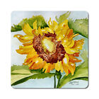 Sunflower 1 - Oversized Rubber Coasters Set of 4 or 6