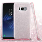For Samsung Galaxy S8 Plus Glitter Hybrid TPU Gradient Hard Cute Case Cover фото