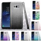 For Samsung Galaxy S8 Plus Glitter Hybrid TPU Gradient Hard Cute Case Cover