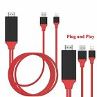 ipad air to hdmi - 8 Pin to HDMI Cable HDTV AV Adapter iPhone 5s 6 6s 7 8 Plus SE iPad Air Mini Pro