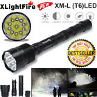 XLightFire 28000 LM CREE XML T6 LED Flashlight Waterproof Torch Light Lamp 18650