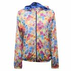 C0238 giacca donna IMPERIAL FLORAL traforata multicolor jacket woman