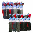 2,6 Pairs Mens Ski Socks Snowboarding Snow Hiking Thick Long Winter Sock