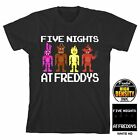Cool Collectable Shirts! Five Nights at Freddys Boy's Black T-Shirt: