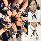 Women Silk Twilly Scarves Ribbon Bandeau Tied Bag Handle Practical Decoration