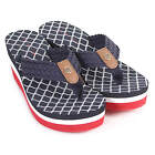 Tommy Hilfiger Women's Mariah 3D Textile Wedge Sandal Midnight