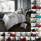 Duvet Quilt Cover With Pillow Case Bed Set Single Double King -Signature Range 1