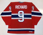 MAURICE RICHARD MONTREAL CANADIENS CCM MASKA JERSEY