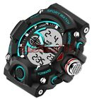 Water Proof Resistant Swimming Wrist Watch Mens Analog-Digital Military paracord