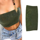 Women Lady Vest Chest Cover Wrap Bandeau Cami Camisole Bra Top Boob Tube Tops
